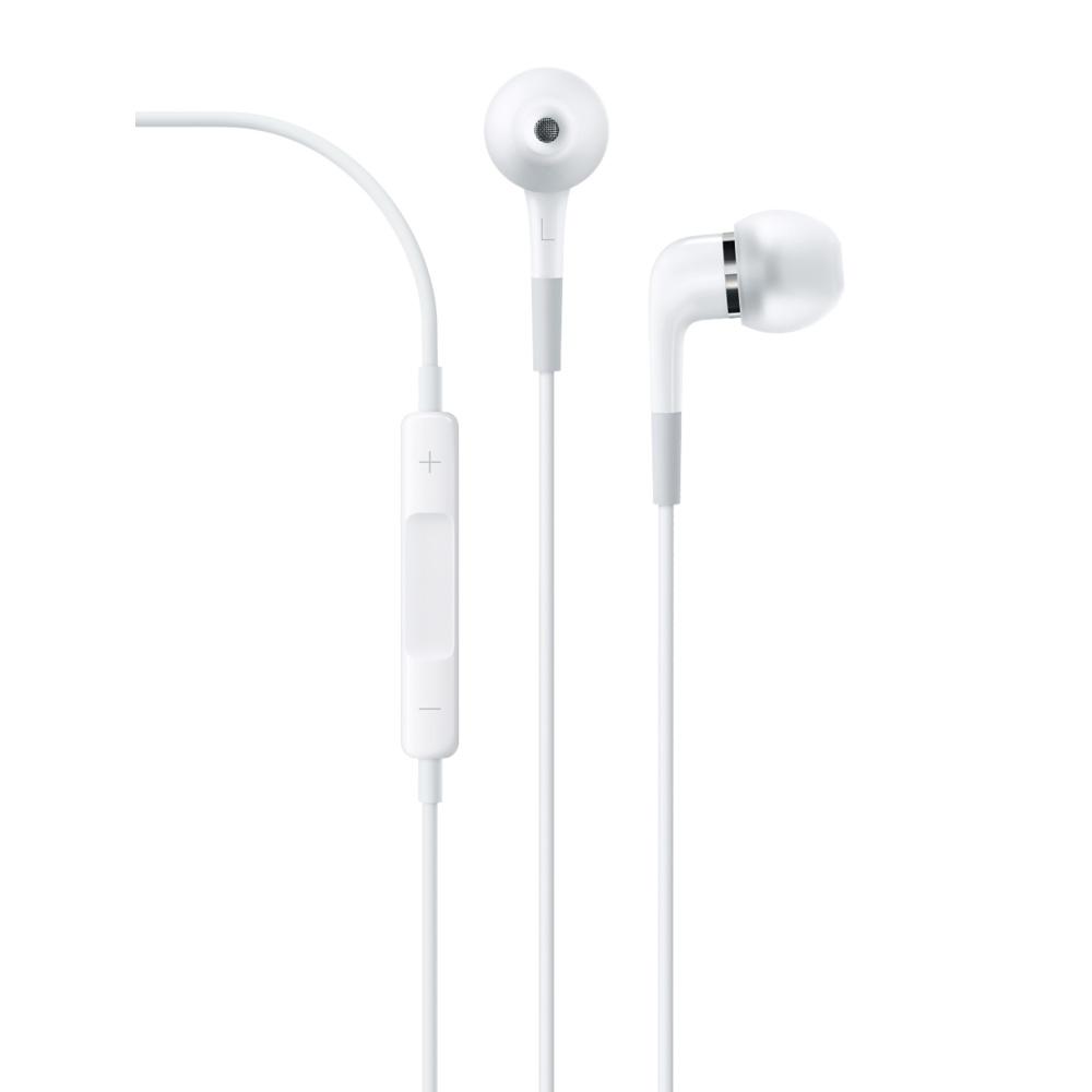 Casque Apple In-Ear ME186ZM/B Ecouteurs intra-auriculaires Apple In-Ear avec télécommande et micro
