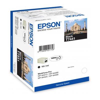 Cartouche imprimante Epson T7441 Cartouche d'encre noire haute capacité