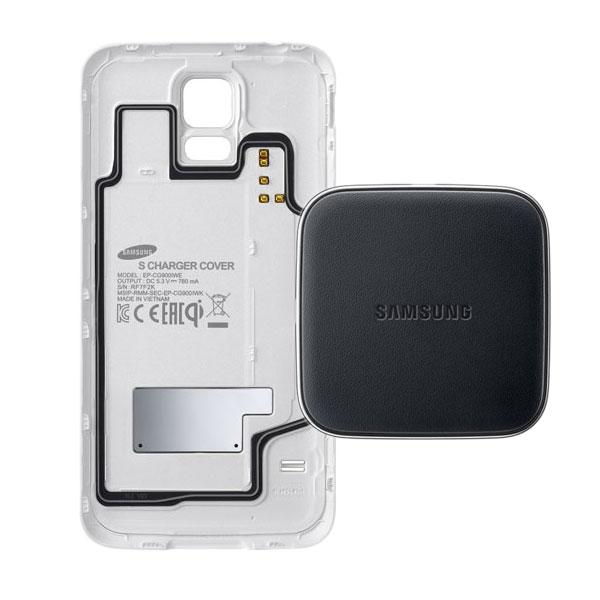 Samsung Wireless Charging Kit Ep Wg900 Blanc Ep Wg900iwegbn Achat Vente Chargeur T L Phone