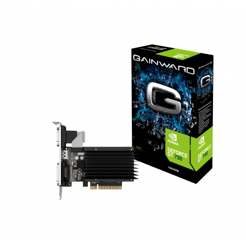 Carte graphique Gainward GeForce GT 730 1024MB DDR3 SilentFX 1 Go HDMI/DVI - PCI Express (NVIDIA GeForce avec CUDA GT 730)