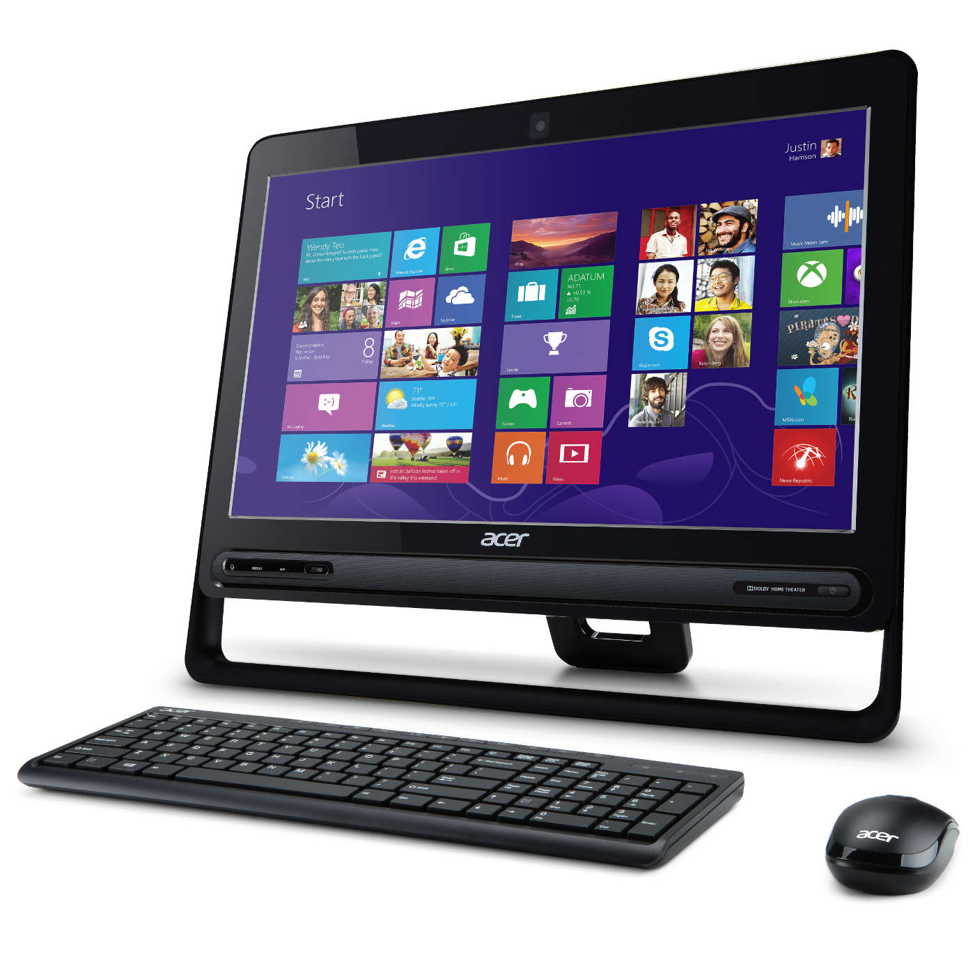 acer aspire zc 610 dq pc de bureau acer sur ldlc. Black Bedroom Furniture Sets. Home Design Ideas