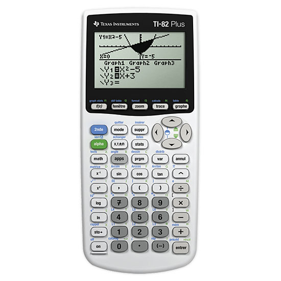 texas instruments ti 82 plus calculatrice texas. Black Bedroom Furniture Sets. Home Design Ideas