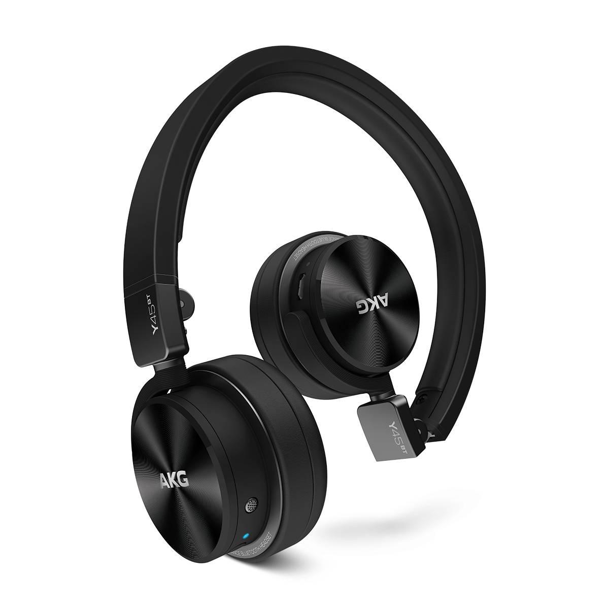 Casque AKG Y 45BT Noir Casque supra-auriculaire fermé Bluetooth avec micro intégré