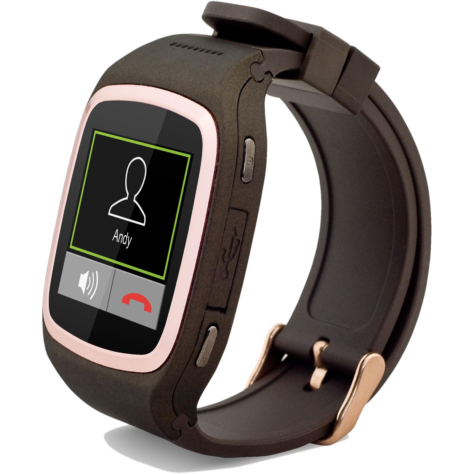 mykronoz zesplash marron montre bracelets connect s mykronoz sur ldlc. Black Bedroom Furniture Sets. Home Design Ideas