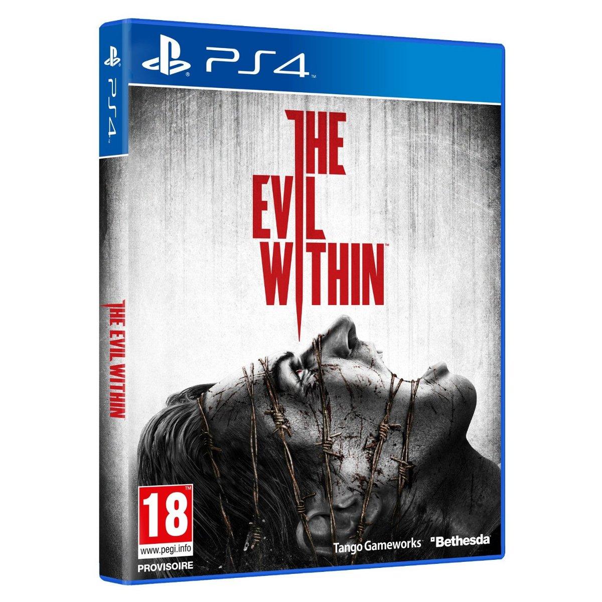 the evil within ps4 jeux ps4 bethesda softworks sur ldlc. Black Bedroom Furniture Sets. Home Design Ideas
