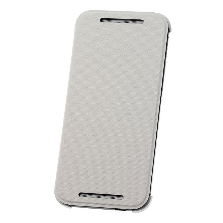 Etui téléphone HTC Etui Folio Flipcase Blanc HTC One mini 2 Coque à rabat pour HTC One mini 2