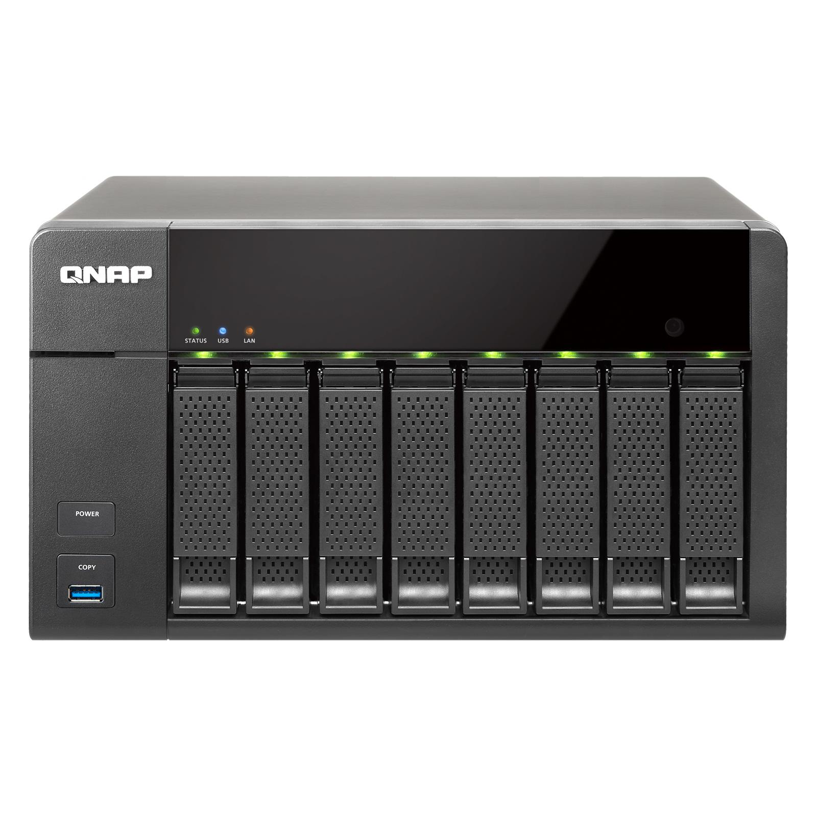 Serveur NAS QNAP TS-851-4G Serveur NAS 8 baies (sans disque dur)
