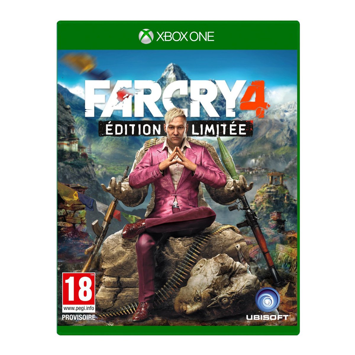 far cry 4 edition limit e xbox one jeux xbox one ubisoft sur ldlc. Black Bedroom Furniture Sets. Home Design Ideas