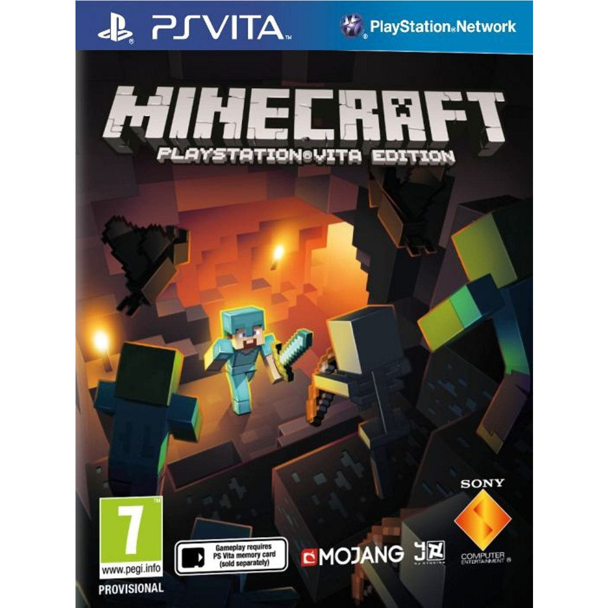 minecraft ps vita 0711719438212 achat vente jeux ps vita sur. Black Bedroom Furniture Sets. Home Design Ideas