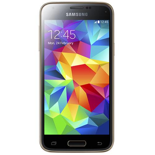 "Mobile & smartphone Samsung Galaxy S5 mini SM-G800 Or 16 Go Smartphone 4G-LTE certifié IP67 avec écran tactile HD Super AMOLED 4.5"" sous Android 4.4"