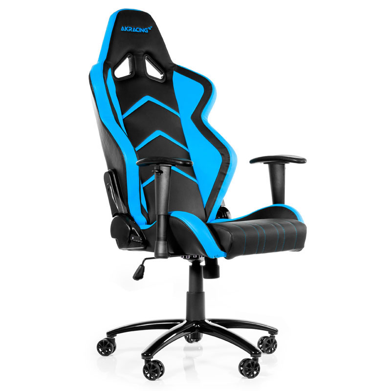 akracing player gaming chair bleu si ge pc akracing sur ldlc. Black Bedroom Furniture Sets. Home Design Ideas