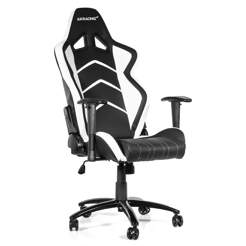 akracing player gaming chair blanc si ge pc akracing. Black Bedroom Furniture Sets. Home Design Ideas