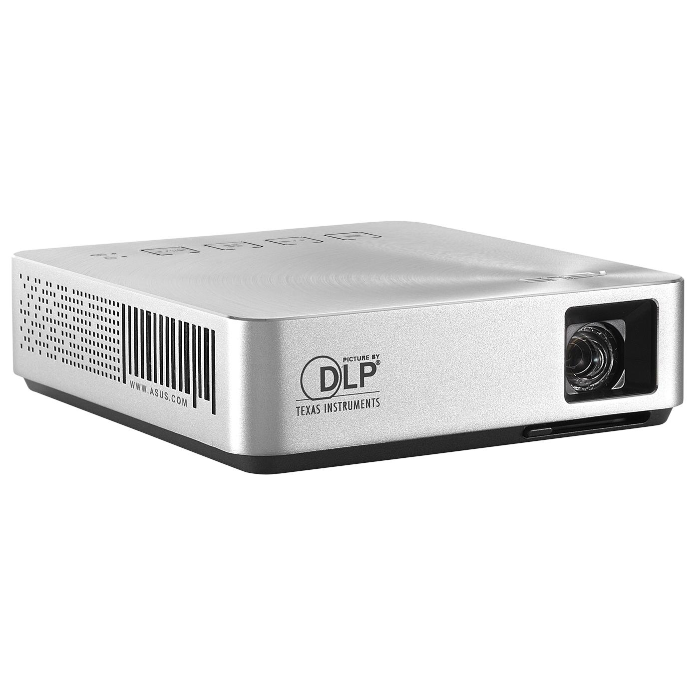 Vidéoprojecteur ASUS S1 Argent  Vidéoprojecteur de poche DLP à LED WVGA 200 Lumens