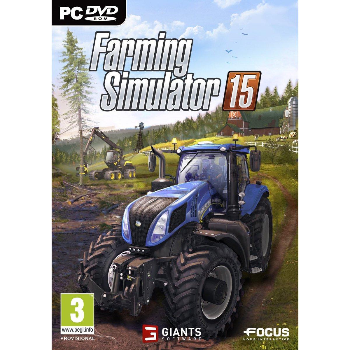 farming simulator 15 pc jeux pc focus home interactive sur ldlc. Black Bedroom Furniture Sets. Home Design Ideas