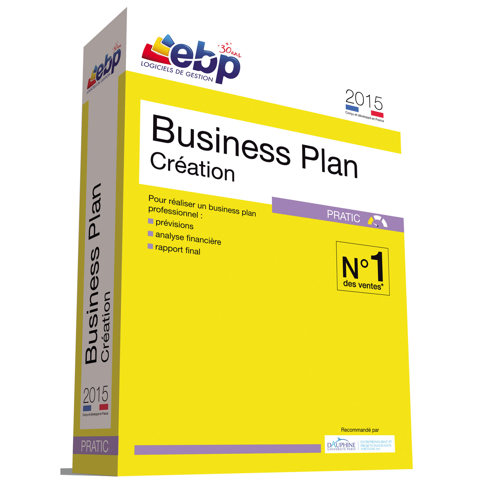 Ebp business plan cr ation pratic 2015 logiciel cr ation for Logiciel creation de plan