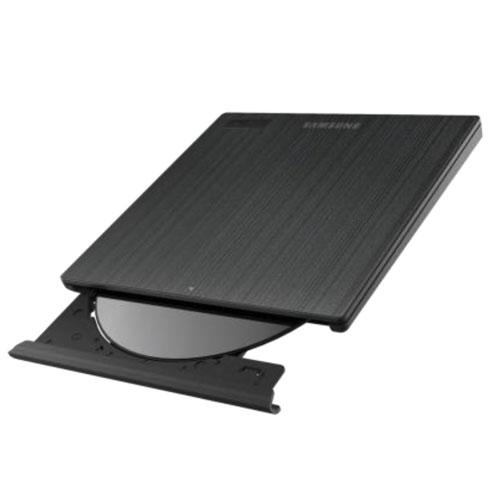 Lecteur graveur Samsung SE-218GN Noir Graveur DVD(+/-)RW/RAM 8/8/8/6/5x DL(+/-) 6/6x CD-RW 24/24/24x Noir Externe Slim - USB 2.0
