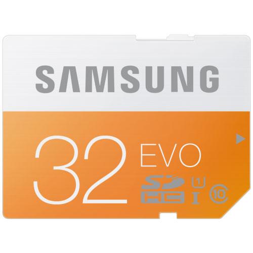 Carte mémoire Samsung SDHC 32 Go EVO Carte mémoire SDHC UHS-I U1 32 Go