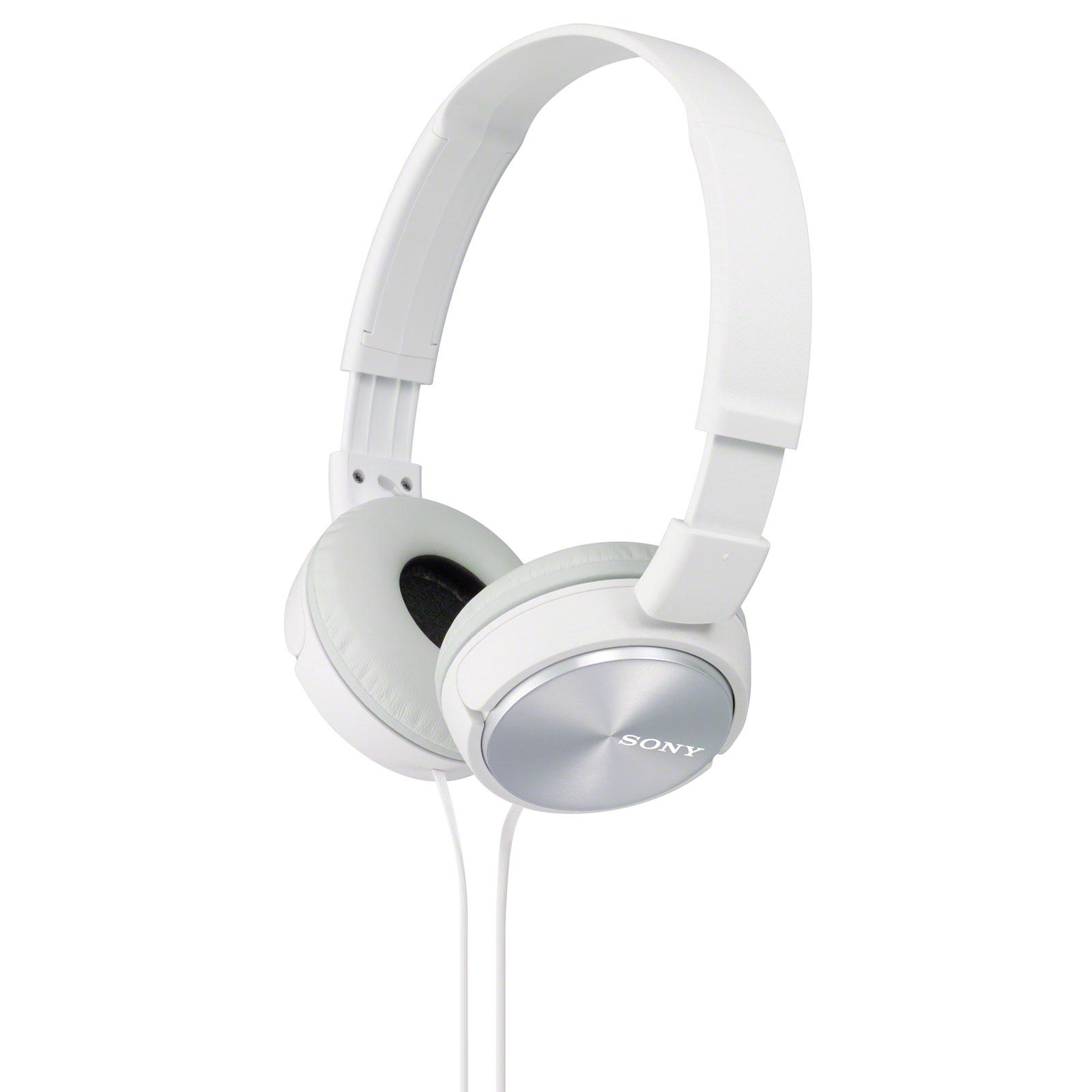 Casque Sony MDR-ZX310AP Blanc Casque supra-auriculaire fermé
