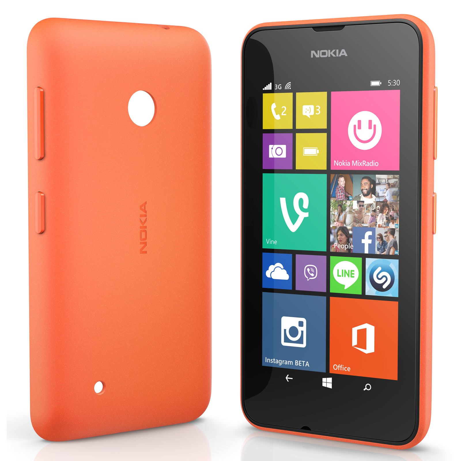 nokia shell cc 3084 orange nokia lumia 530 etui t l phone nokia sur ldlc. Black Bedroom Furniture Sets. Home Design Ideas