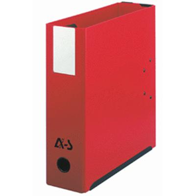 Classeur Arianex Classeur à 2 leviers Rouge Classeur à levier fermé double mécanisme MIL-AR dos 95 mm coloris rouge