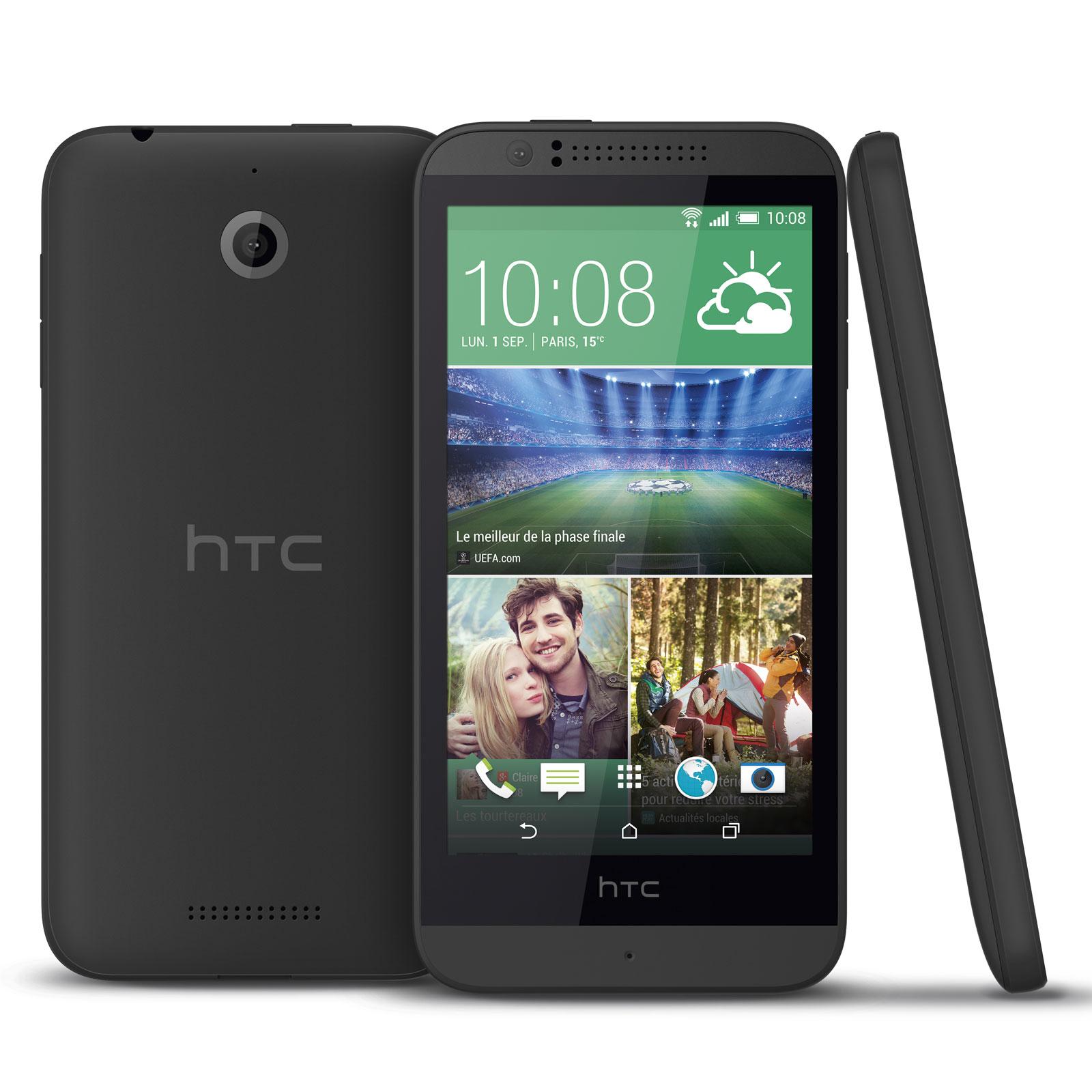 htc desire 510 gris mobile smartphone htc sur ldlc. Black Bedroom Furniture Sets. Home Design Ideas