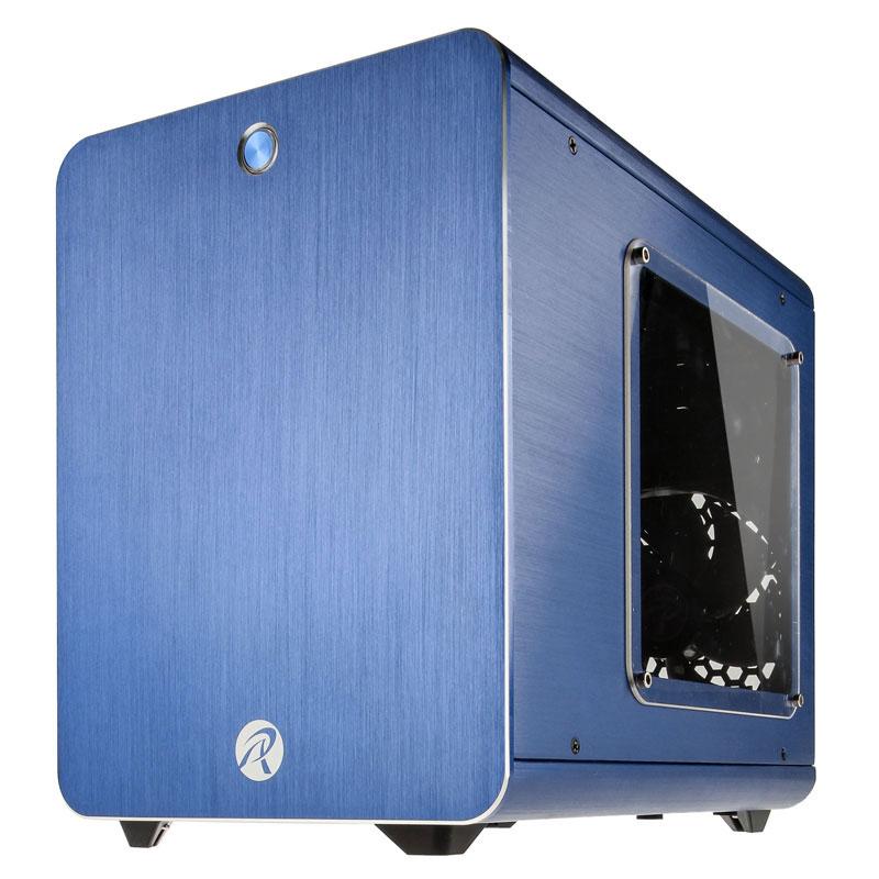 Boîtier PC Raijintek Metis Window (bleu) Boîtier mini tour avec fenêtre latérale