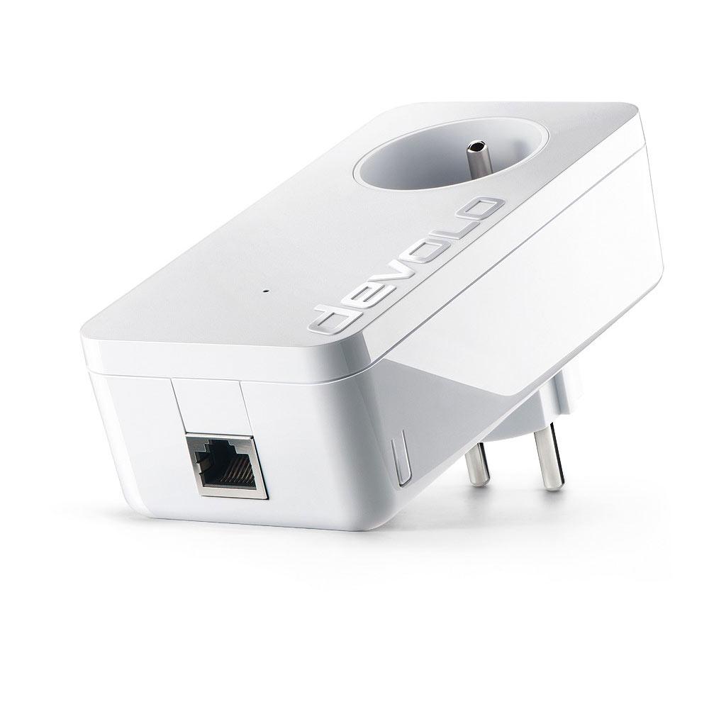 CPL Devolo dLAN 1200+ Adaptateur CPL 1200 Mbps avec 1 port Gigabit Ethernet et prise électrique
