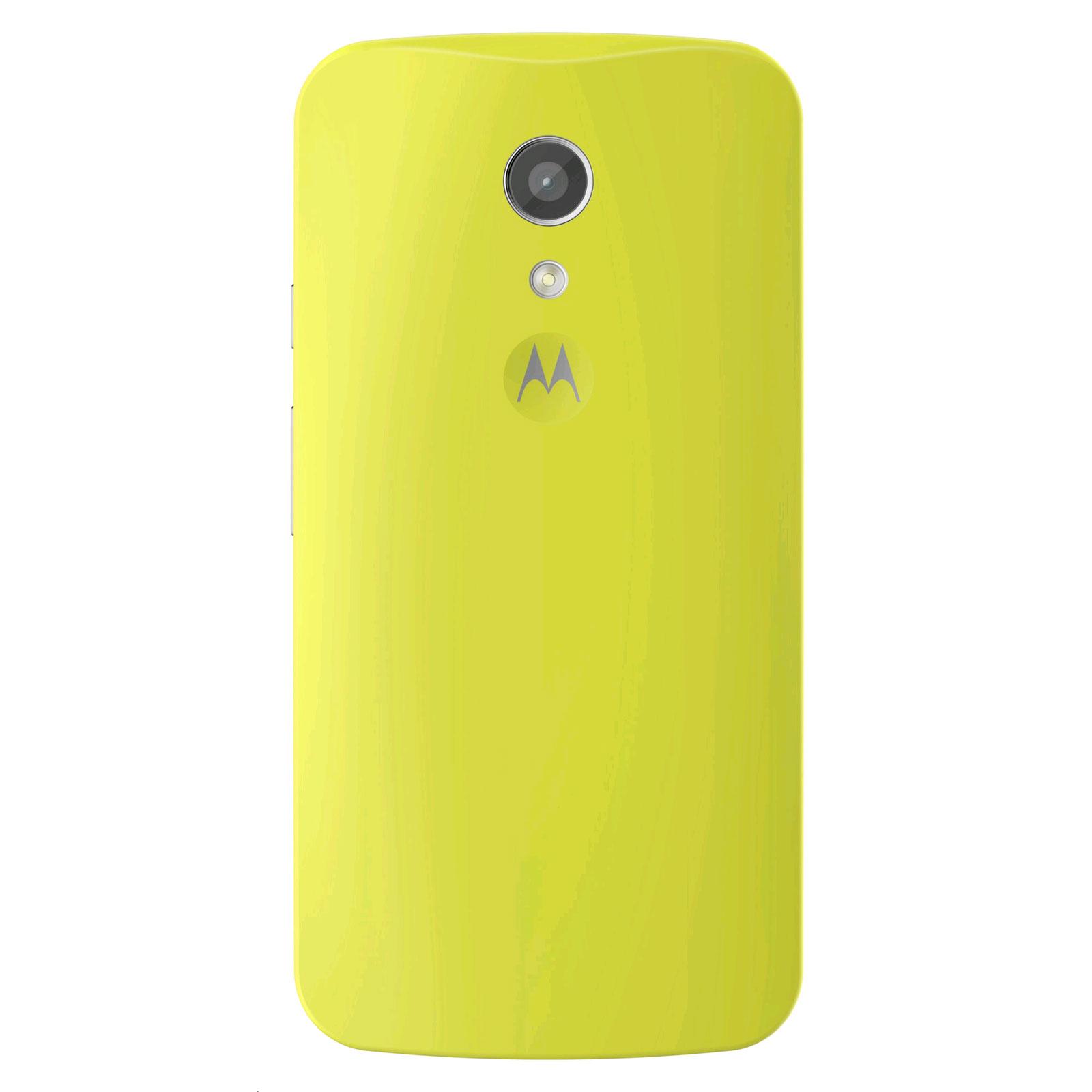 Motorola Coque D Origine Vert Lime Motorola Moto G 2 232 Me