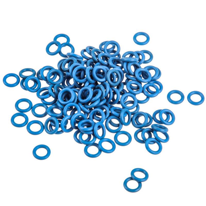 Clavier PC O-Rings pour clavier mécanique à switches Cherry MX (par 125) - bleus Lot de 125 joints toriques bleus en caoutchouc pour clavier mécanique à switches Cherry MX
