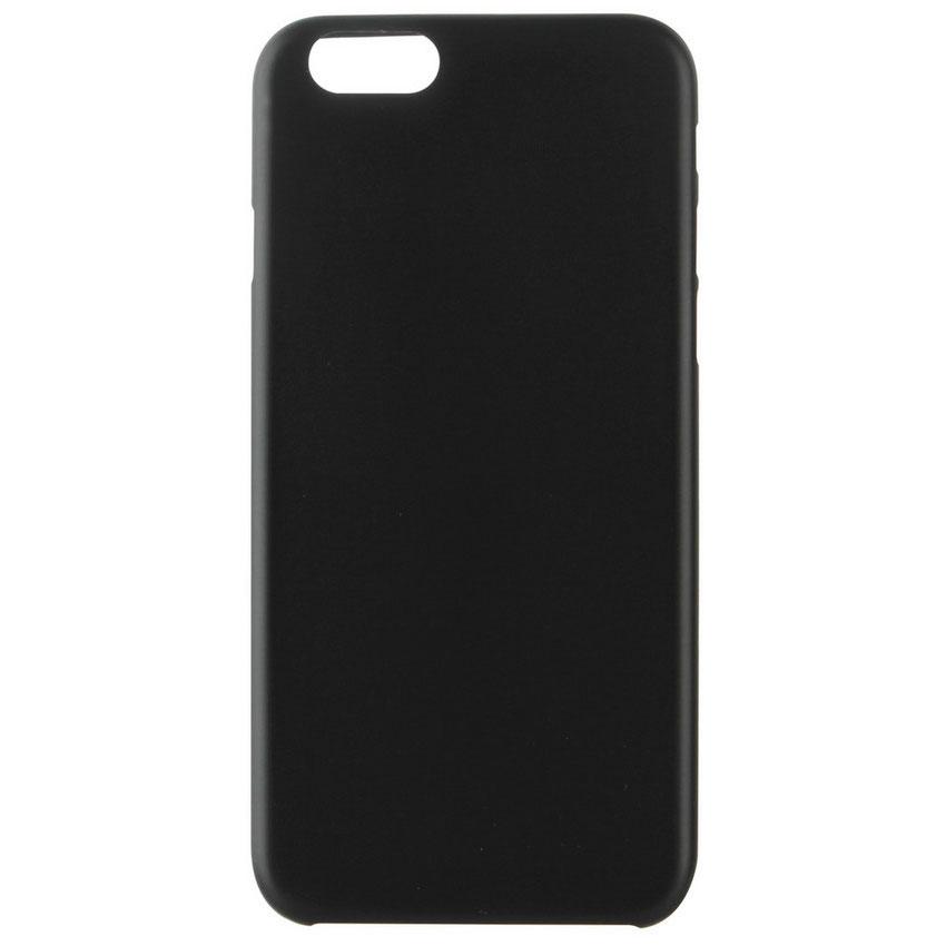 xqisit coque iplate ultra thin noir apple iphone 6 6s. Black Bedroom Furniture Sets. Home Design Ideas