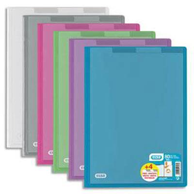 Elba 14 prot ge documents hawai a4 80 vues 40 pochettes for Porte vues avec couverture personnalisable