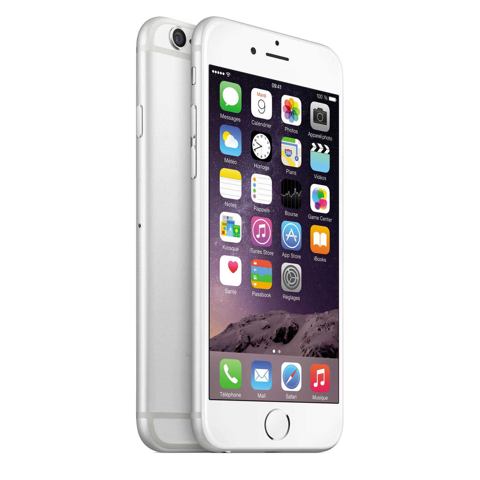 apple iphone 6 64 go argent mobile smartphone apple sur ldlc. Black Bedroom Furniture Sets. Home Design Ideas