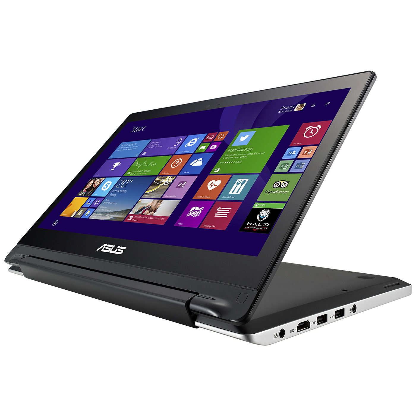 asus transformer book flip tp300la dw060h pc portable. Black Bedroom Furniture Sets. Home Design Ideas