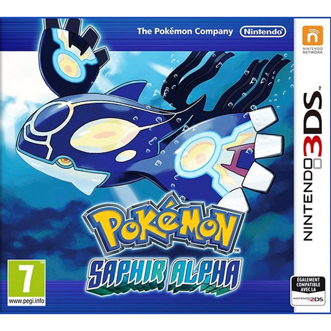 Jeux Nintendo 3DS Pokémon : Saphir Alpha (Nintendo 3DS/2DS) Pokémon : Saphir Alpha (Nintendo 3DS/2DS)