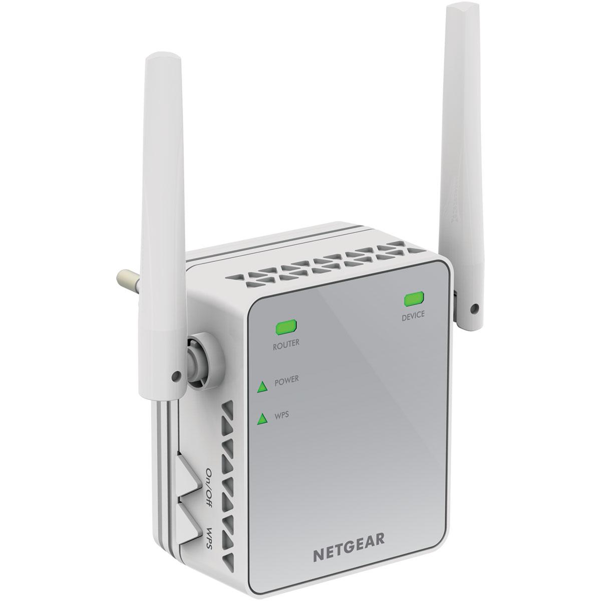 Netgear ex2700 r p teur wi fi netgear sur ldlc - Augmenter portee votre wifi avec repeteur ...