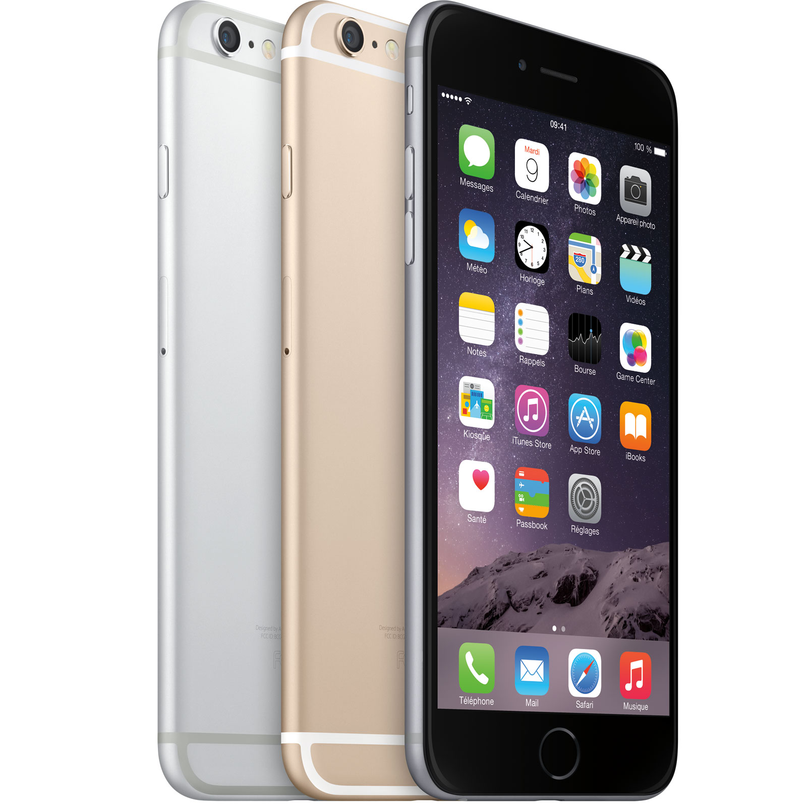 apple iphone 6 plus 64 go gris sid ral mobile smartphone apple sur ldlc. Black Bedroom Furniture Sets. Home Design Ideas