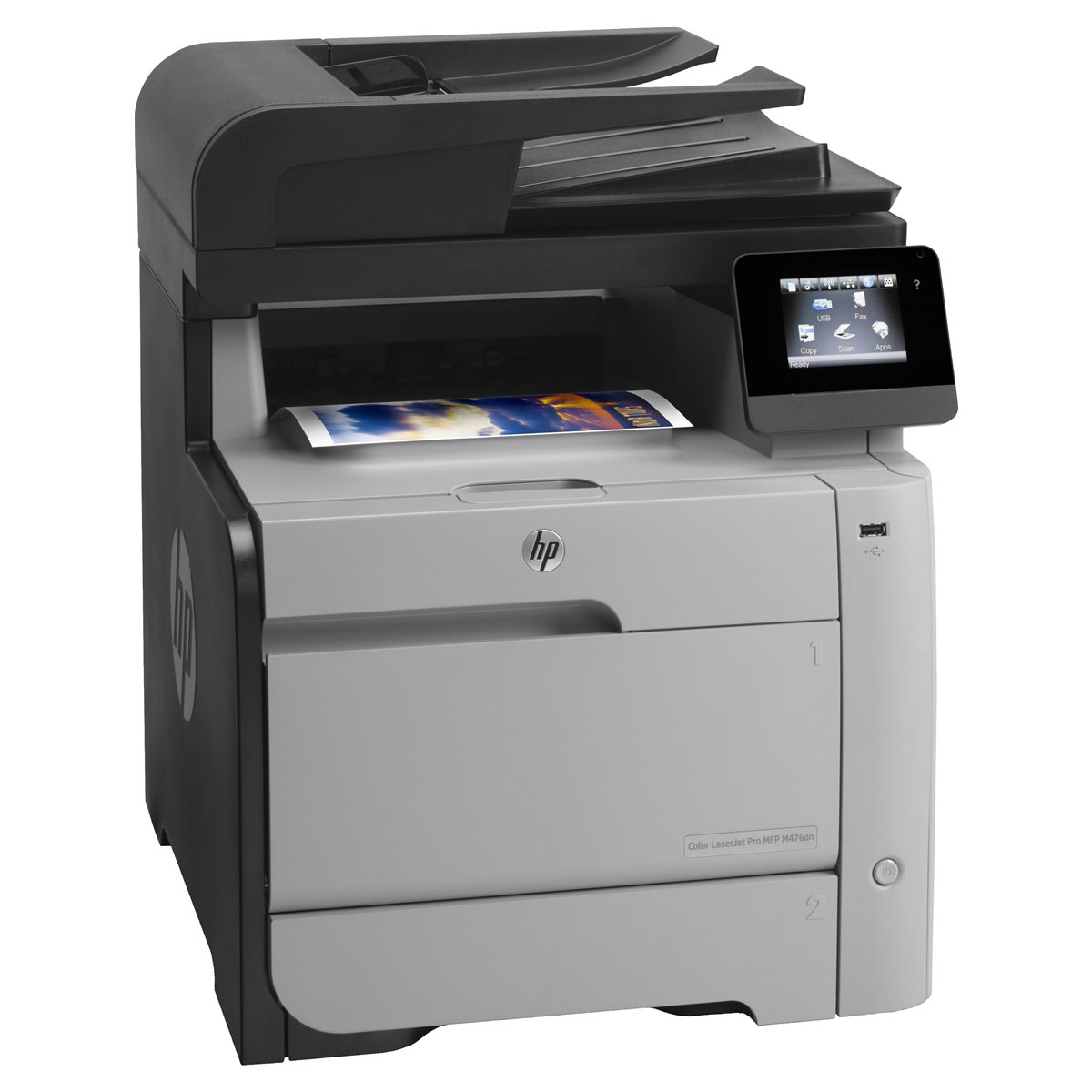 hp laserjet pro mfp m476dn cf386a imprimante. Black Bedroom Furniture Sets. Home Design Ideas