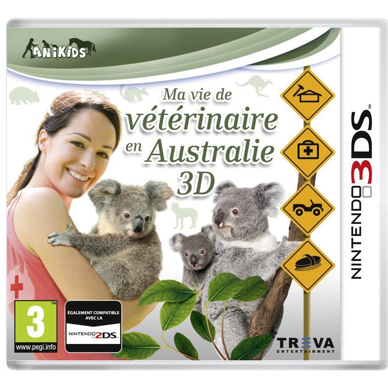 ma vie de v t rinaire en australie 3d nintendo 3ds 2ds jeux nintendo 3ds koch media sur ldlc. Black Bedroom Furniture Sets. Home Design Ideas