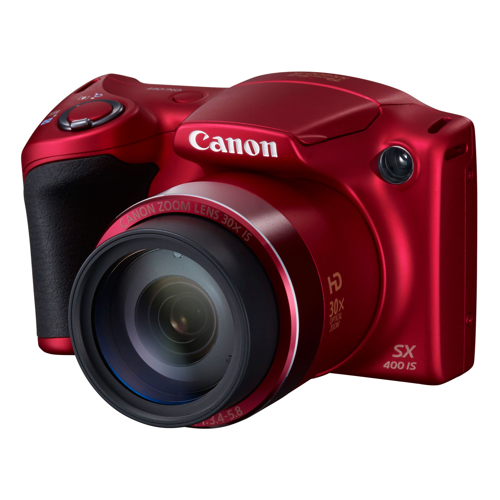 canon powershot sx400 rouge appareil photo num rique. Black Bedroom Furniture Sets. Home Design Ideas