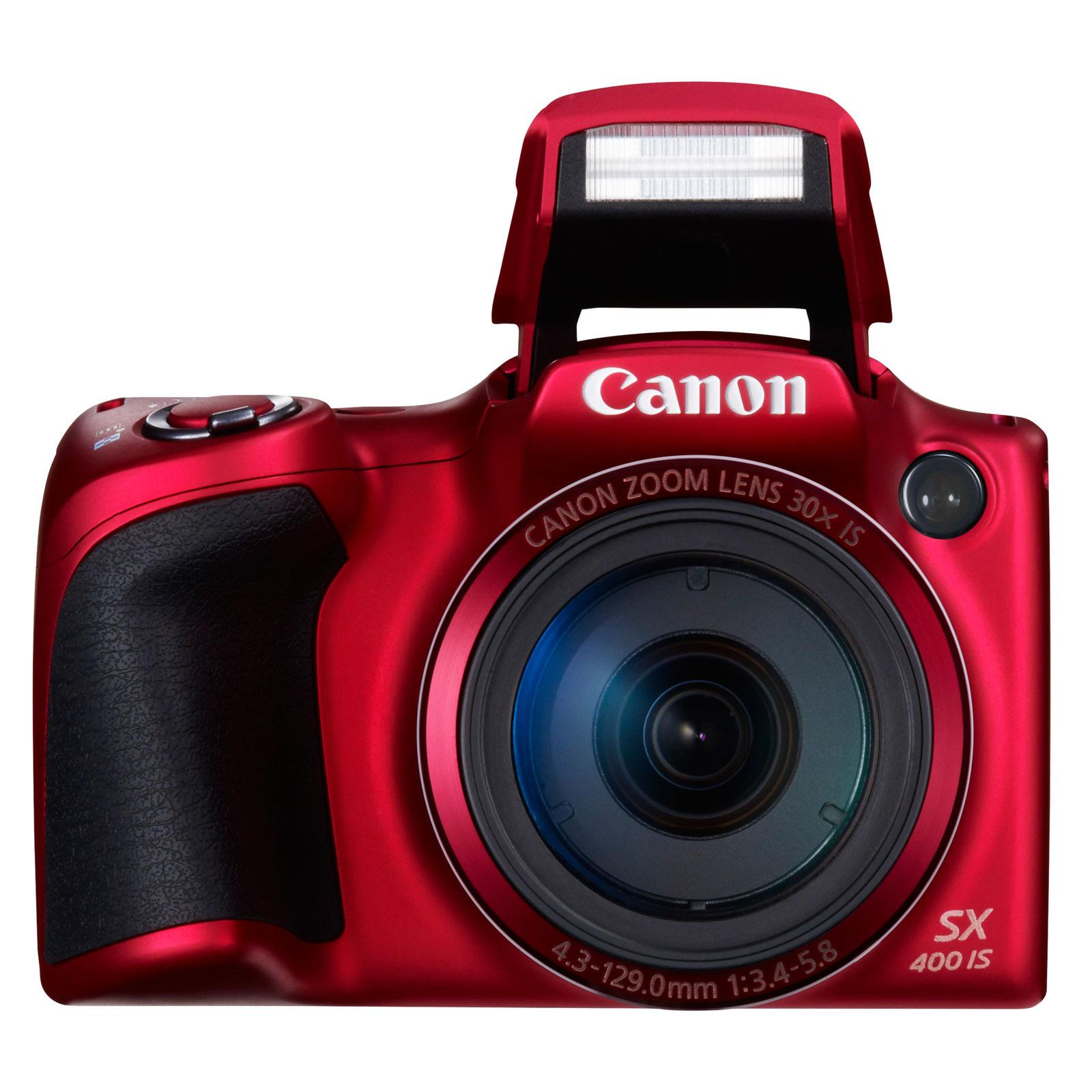 canon powershot sx400 rouge appareil photo num rique. Black Bedroom Furniture Sets. Home Design Ideas