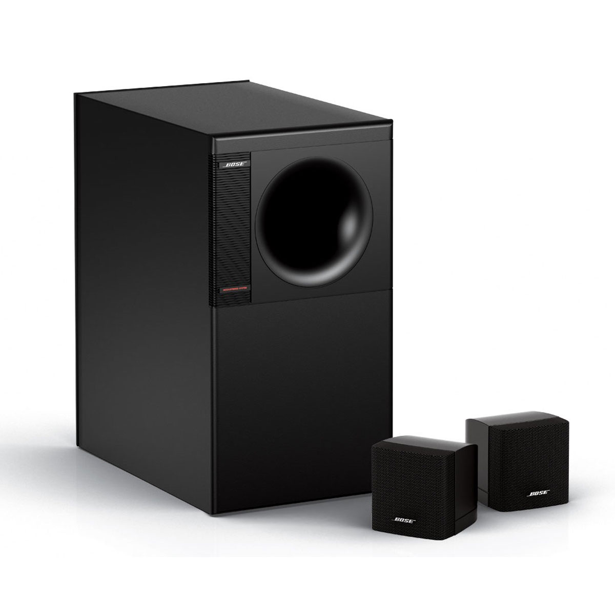 bose acoustimass 3 s rie iv noir am3ivbk achat vente enceintes hifi sur. Black Bedroom Furniture Sets. Home Design Ideas