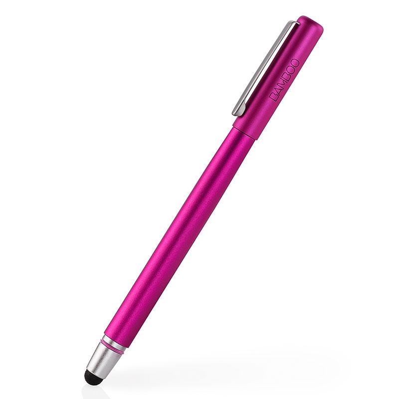 Accessoires Tablette Wacom Bamboo Stylus Solo3 Rose Stylet pour tablette, ordinateur et smartphone