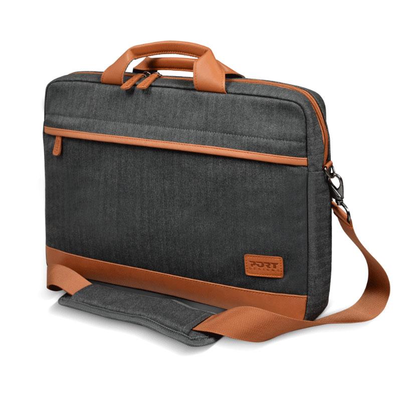 Port designs bahia 15 noir sac sacoche housse port for Housse ordinateur portable