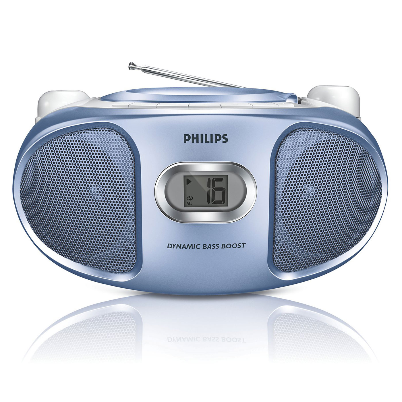 philips az105 bleu radio radio r veil philips sur ldlc. Black Bedroom Furniture Sets. Home Design Ideas