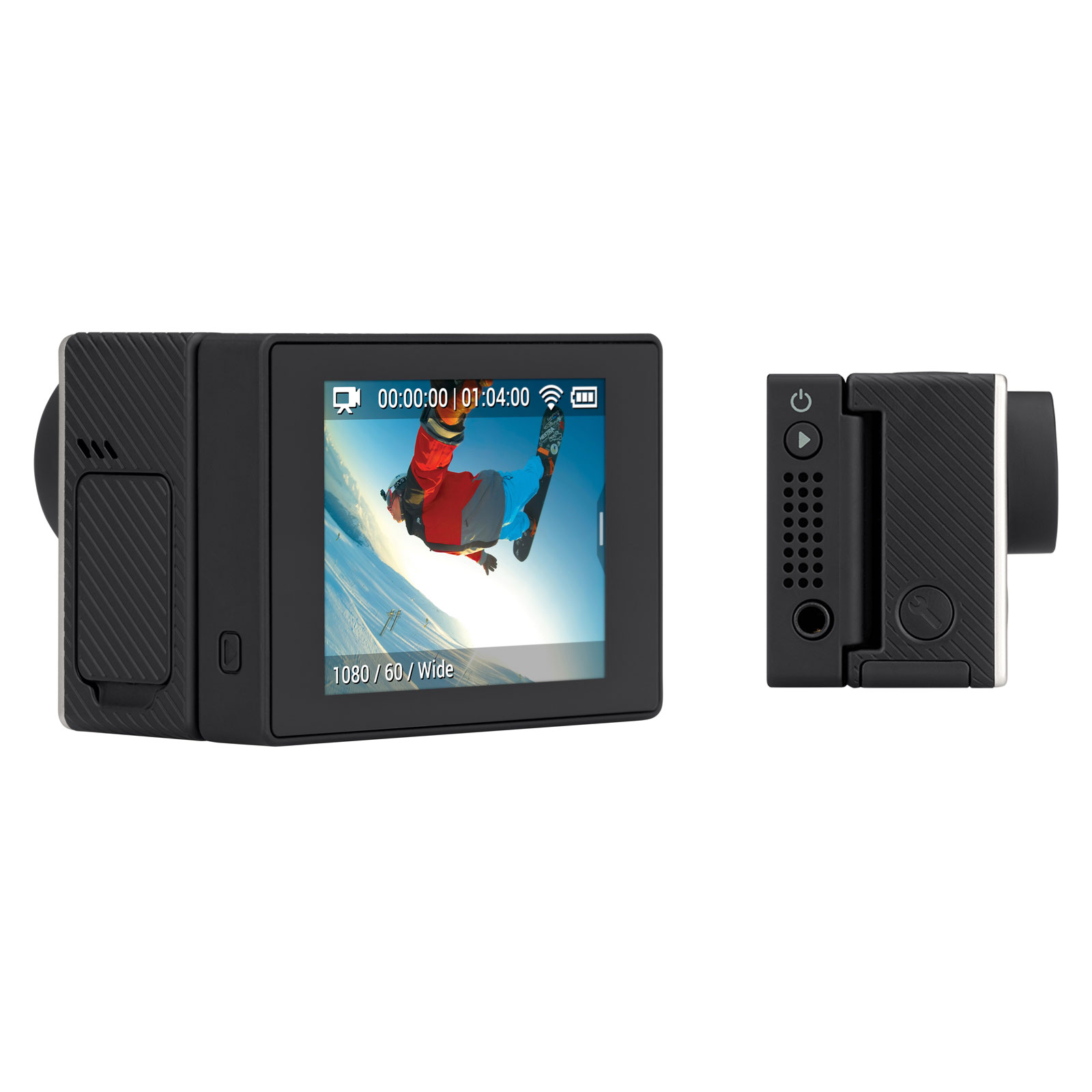 accessoires gopro hero lcd. Black Bedroom Furniture Sets. Home Design Ideas