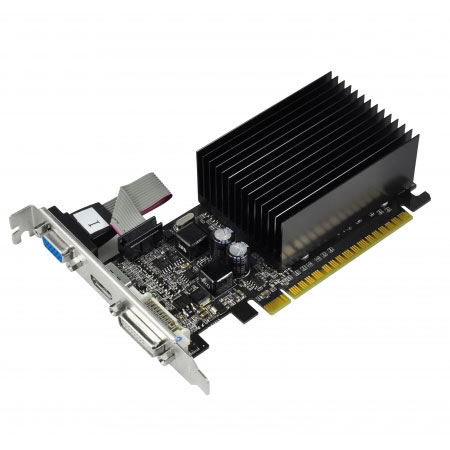 Carte graphique NVIDIA GeForce 210 1024 MB Passive 1024 Mo DVI/HDMI - PCI Express (NVIDIA GeForce avec CUDA 210)