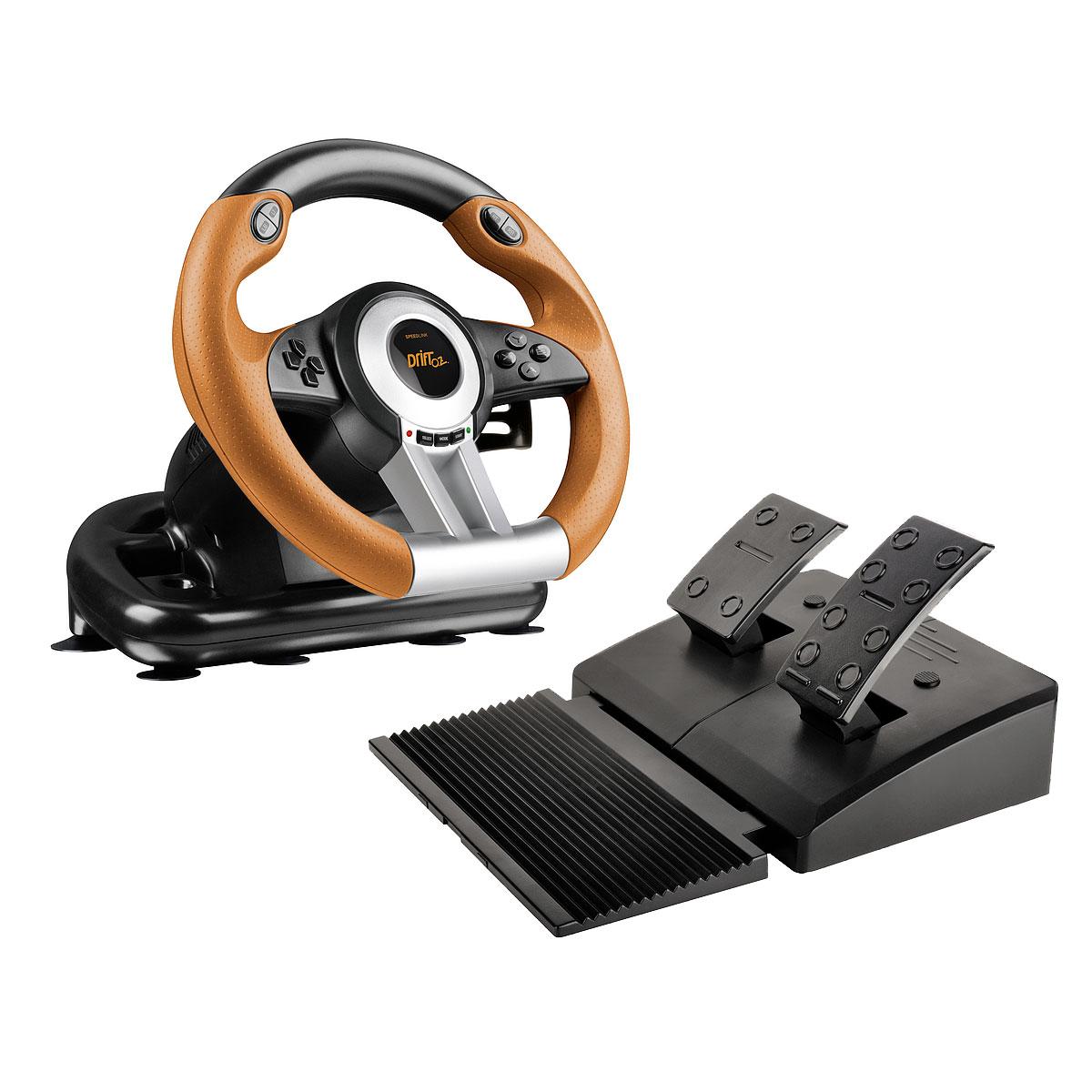 Volant PC Speedlink Drift O.Z. Ensemble volant et pédalier (PC)