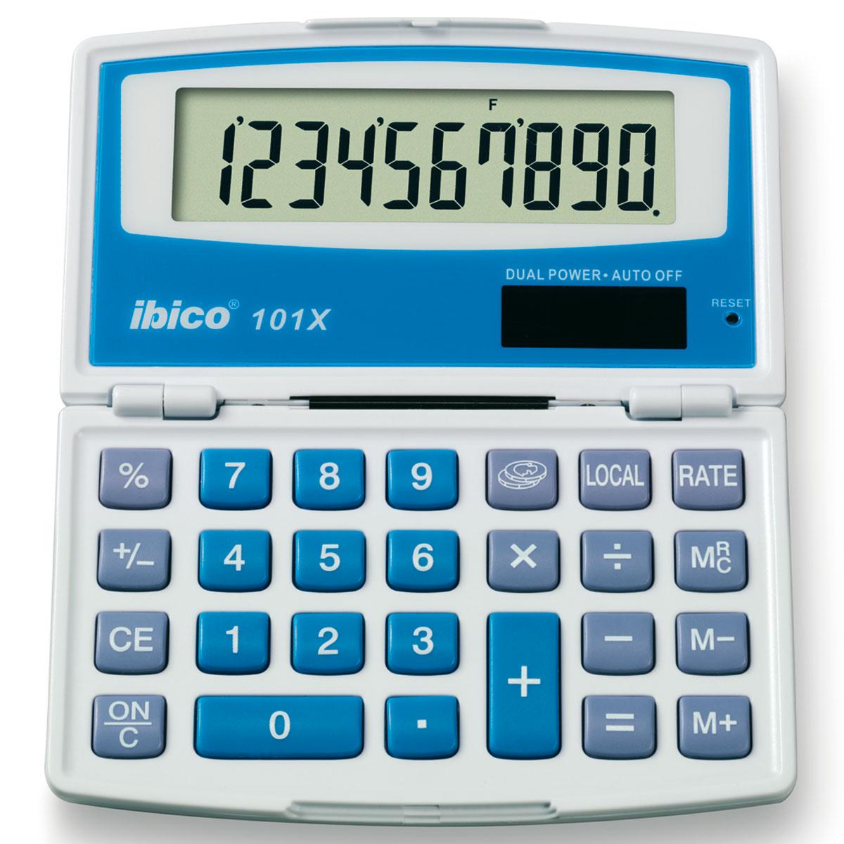 ibico 101x ib410024 achat vente calculatrice sur. Black Bedroom Furniture Sets. Home Design Ideas