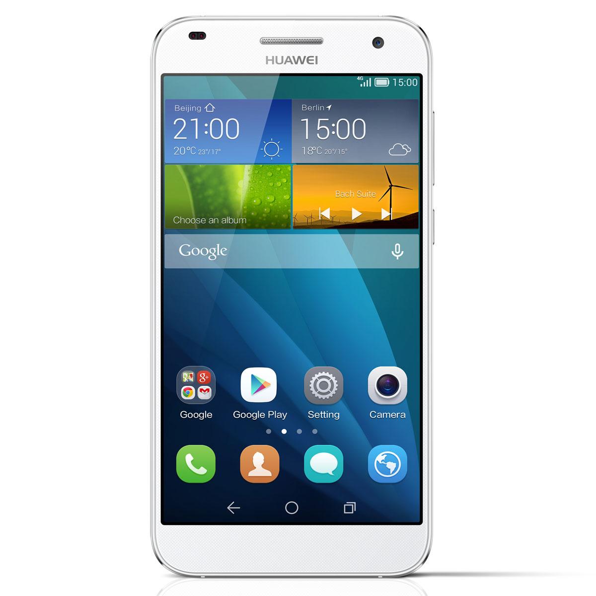 Huawei Ascend G7 Blanc Mobile Amp Smartphone Huawei Sur Ldlc