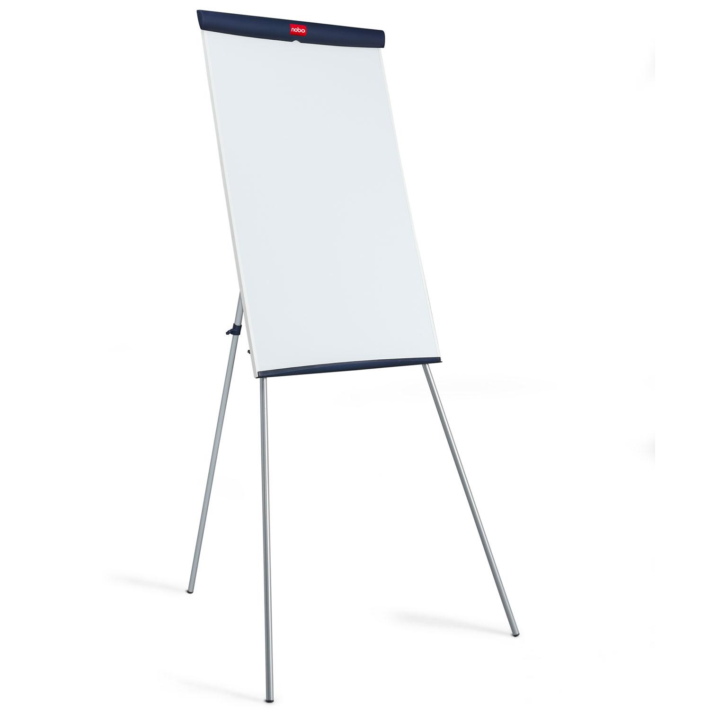 nobo chevalet de conf rence nautile tableau blanc et paperboard nobo sur ldlc. Black Bedroom Furniture Sets. Home Design Ideas